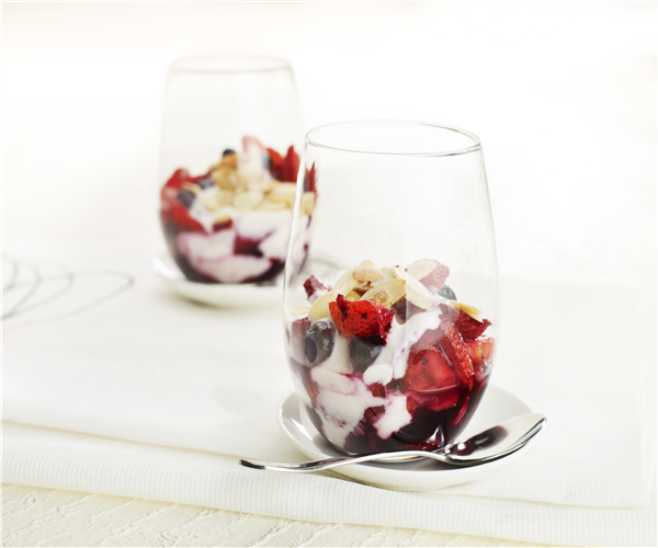 Fruits of the Forest Yoghurt Compote